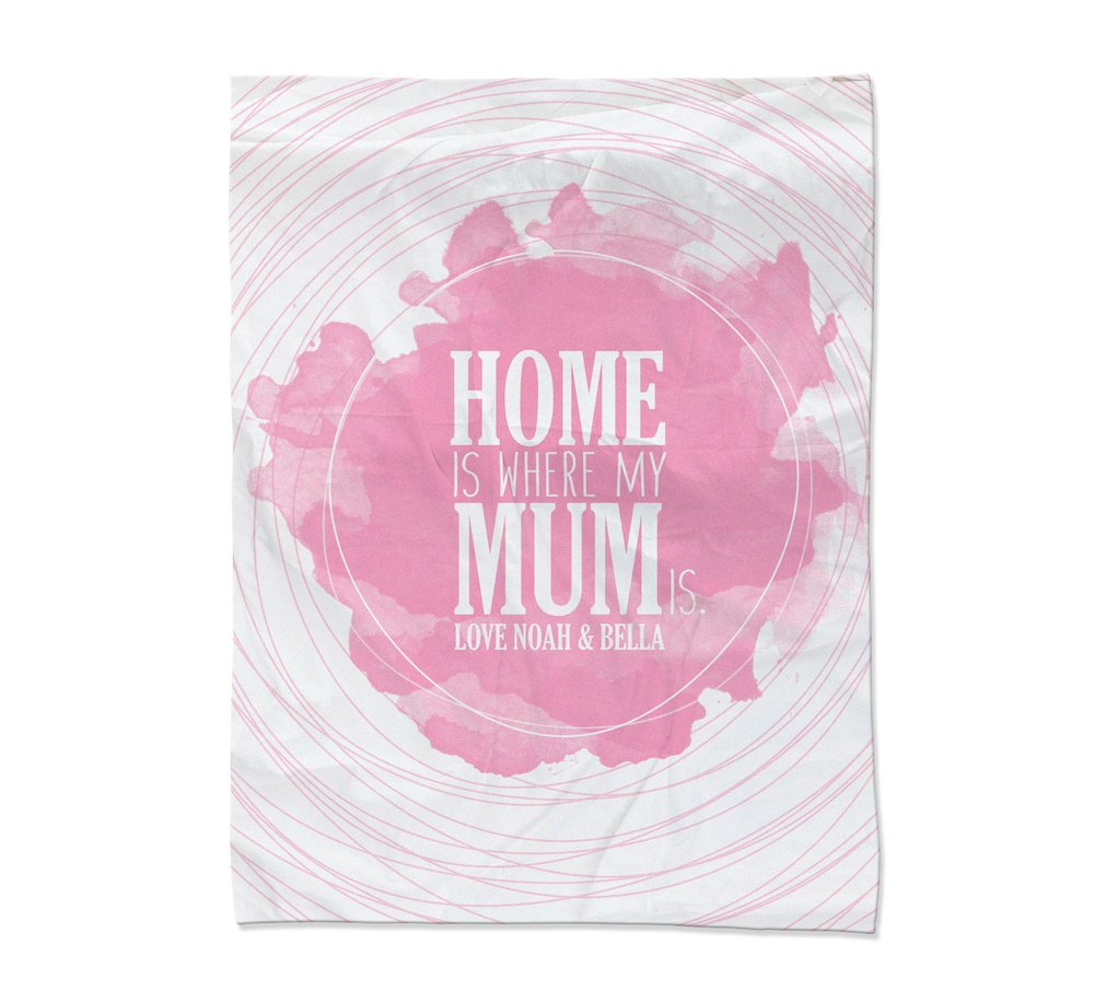 Home is Where Blanket - Large (Temporary Out of Stock)
