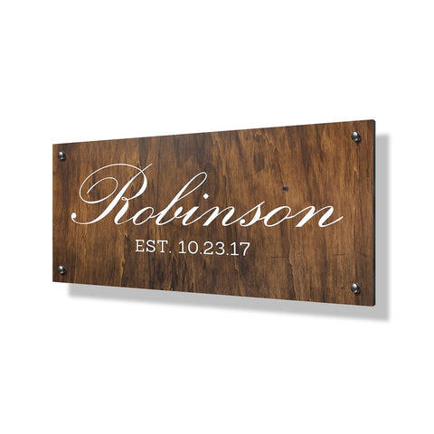 Robinson Business Sign - 24x12""