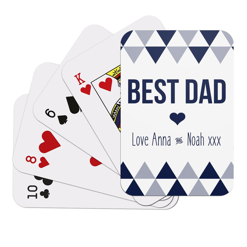 Best Dad Playing Cards