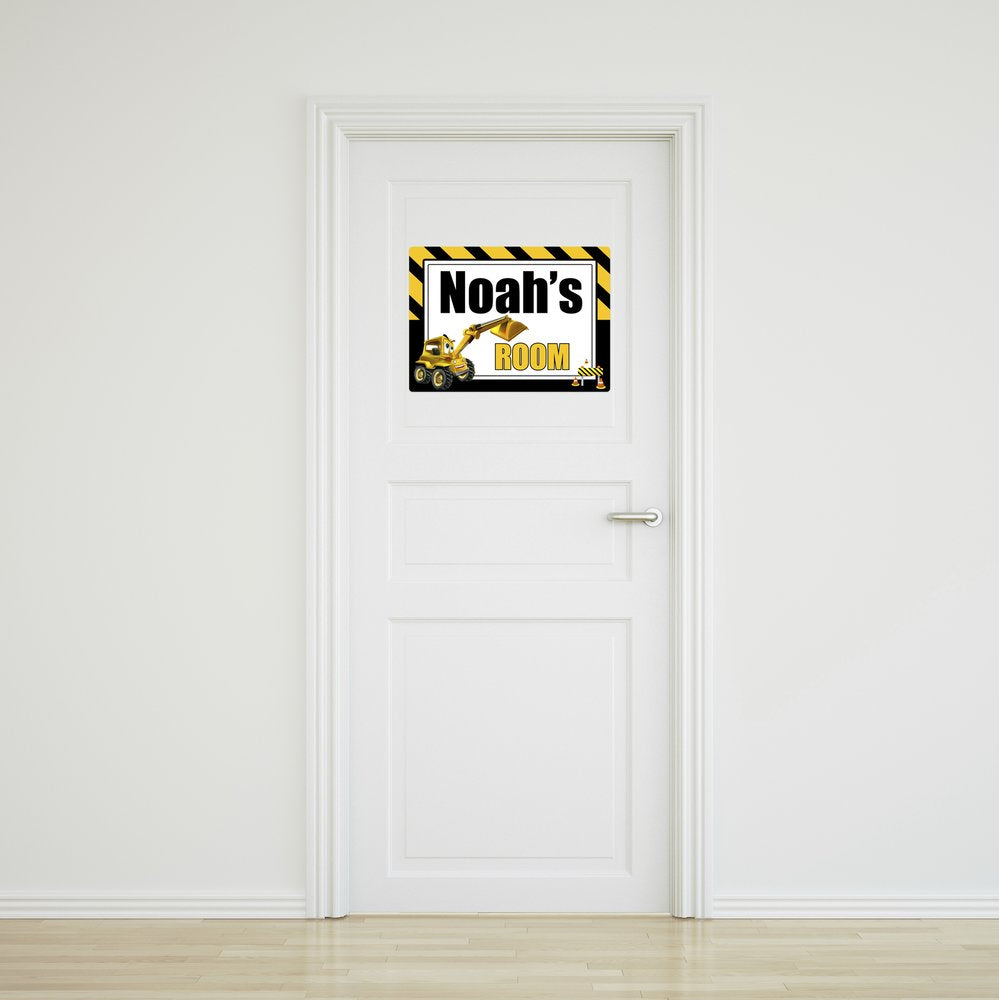 Little Digger Door Sign - Small