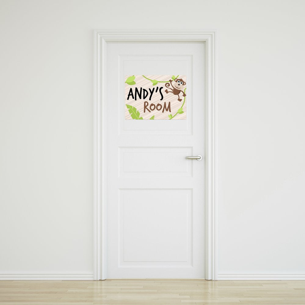Monkey Door Sign - Medium