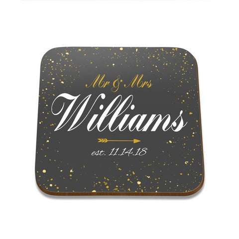 Sparkles Square Coaster - Single