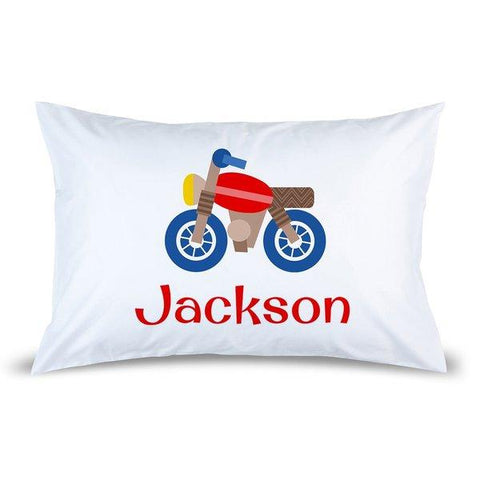 Motorbike Pillow Case