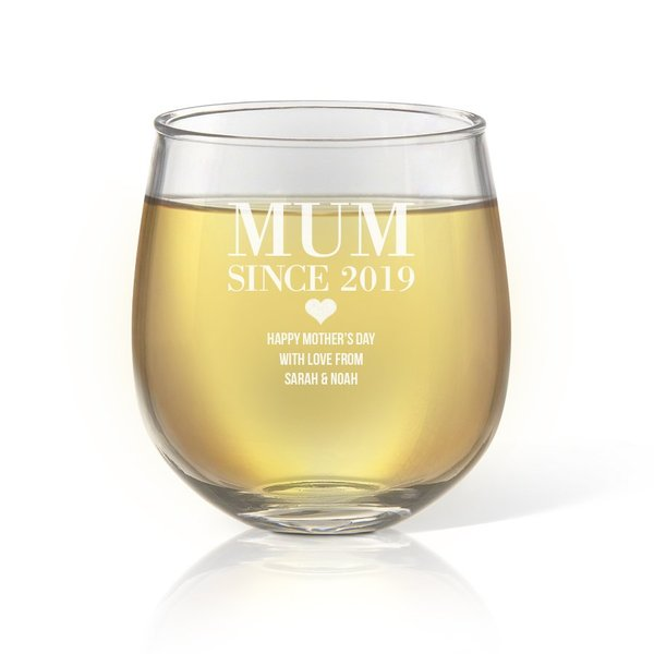 Mother's Day Glassware