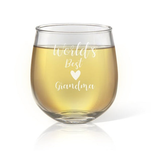 World's Best Stemless Wine Glass