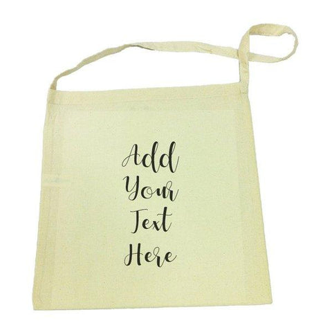 Add Your Own Message Calico Tote Bag