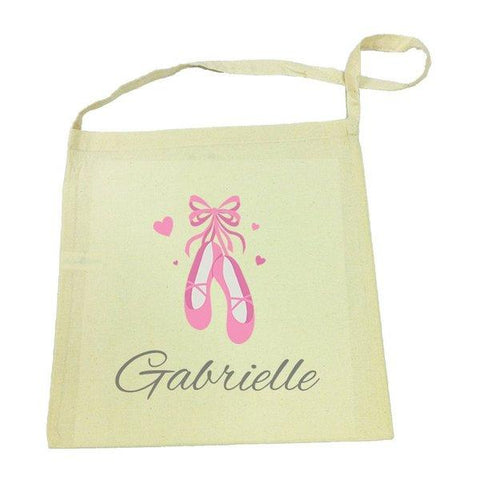 Ballet Shoes Calico Tote Bag