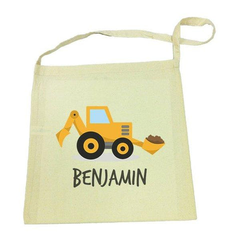 Little Digger Calico Tote Bag