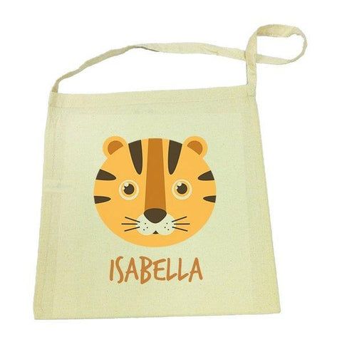 Tiger Calico Tote Bag