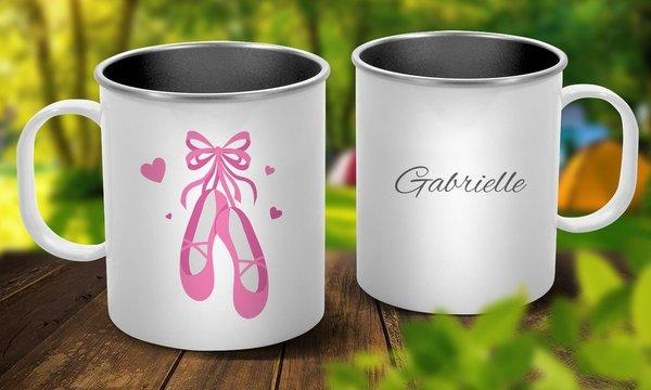 Ballet Shoes Outdoor Mug