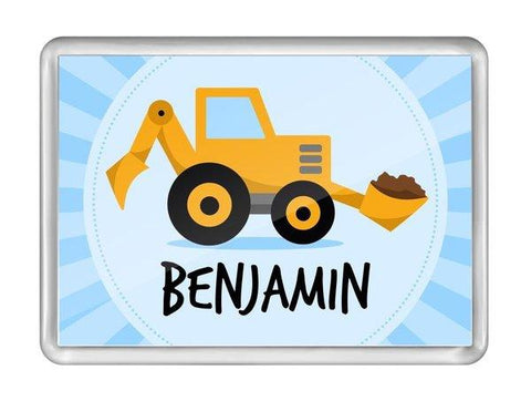 Little Digger Fridge Magnet