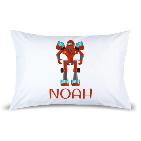 Robot Pillow Case