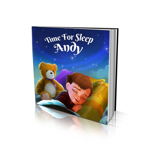 Time for Sleep Large Soft Cover Story Book