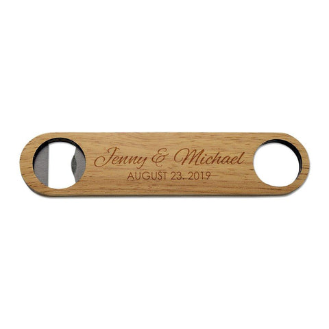 Wedding Wooden Bottle Opener