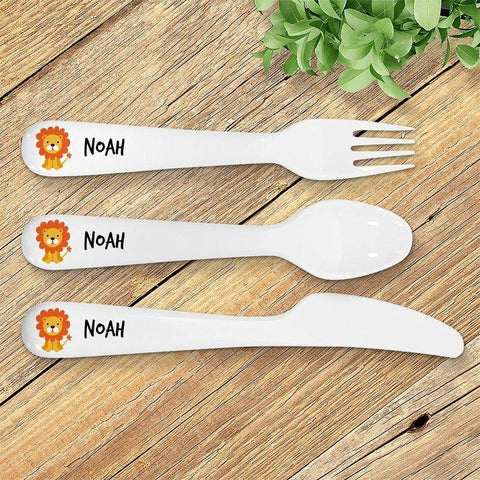 Lion Kids' Cutlery Set
