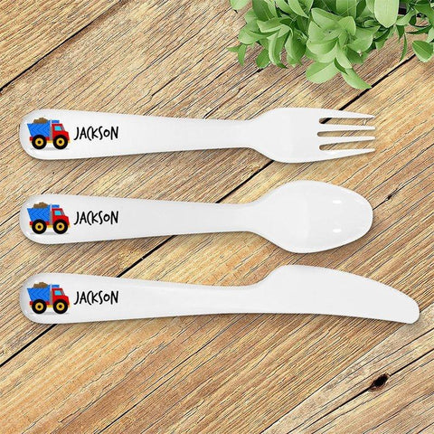 Truck Kids' Cutlery Set