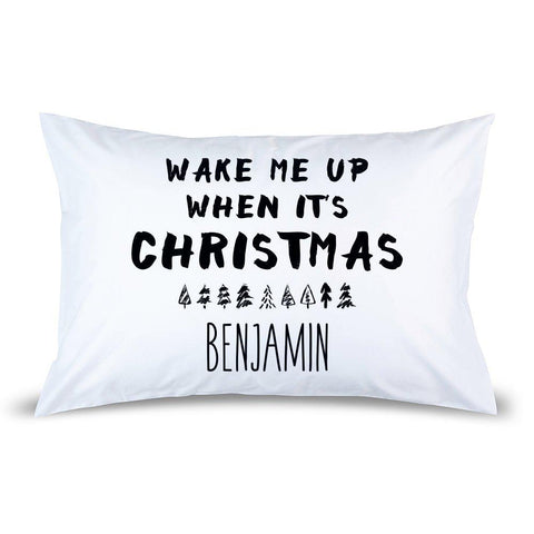 Wake Me Up Pillow Case