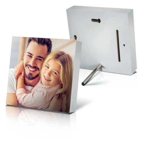 "10 x 10"" White Photo Block - Square"