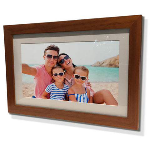 "11x13"" Brown Frame with White Border (5x7"" Print)"