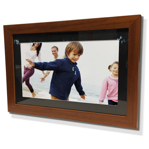"13x15"" Brown Frame with Black Border (7x9"" Print)"