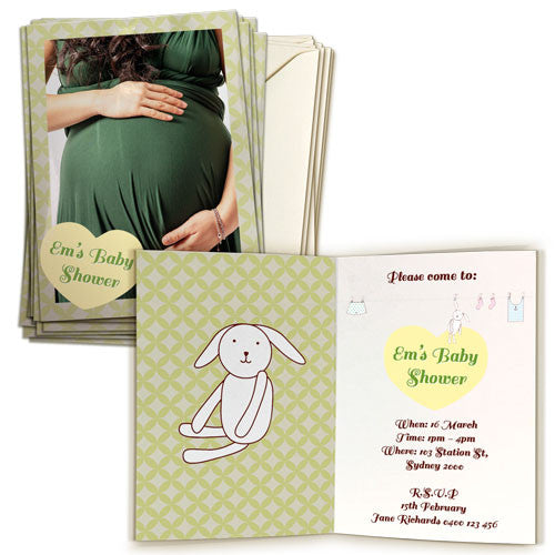 "5 x 7"" Double Sided Card (20 pack) Portrait"