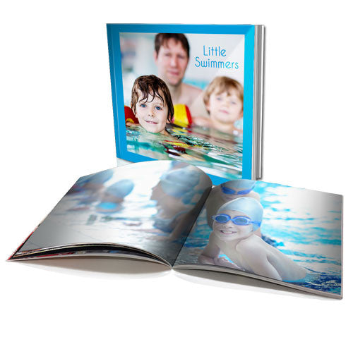 "8 x 8"" Personalised Soft Cover Book (60 Pages)"