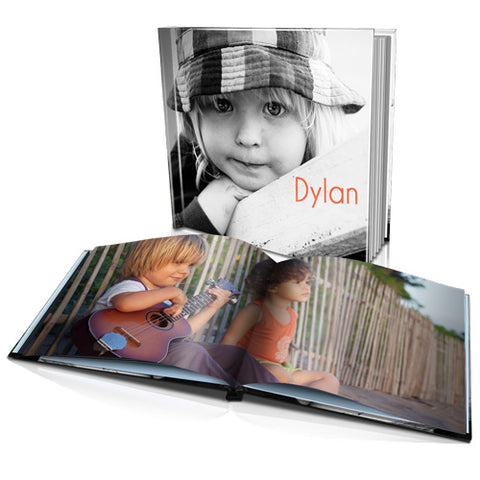 "8 x 8"" Personalised Hard Cover Book"