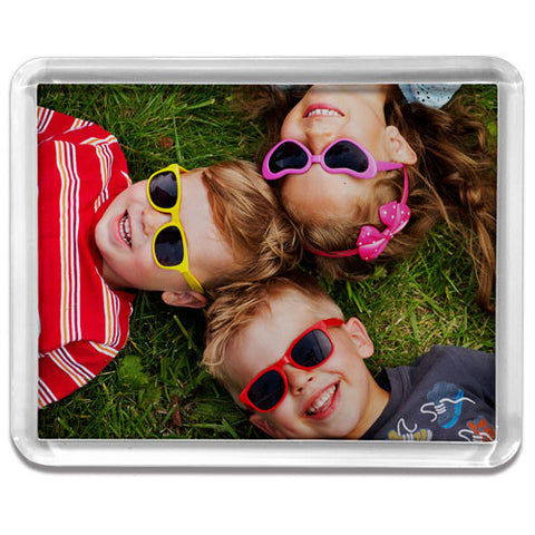 Large Rectangle Clear Frame Fridge Magnet (Temporary Out of Stock)