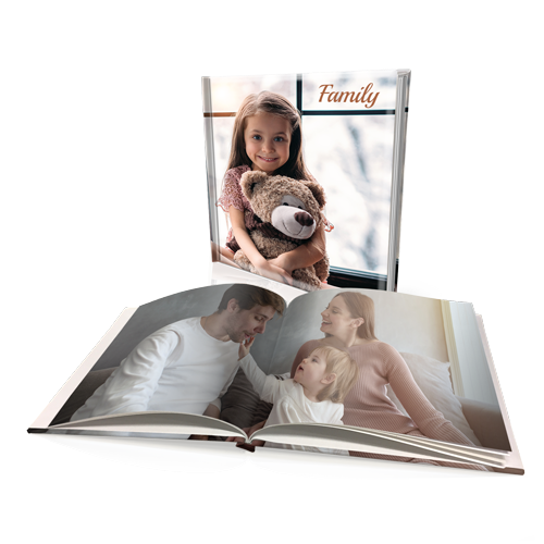 "12 x 12"" Premium Padded Personalised Hard Cover Book"
