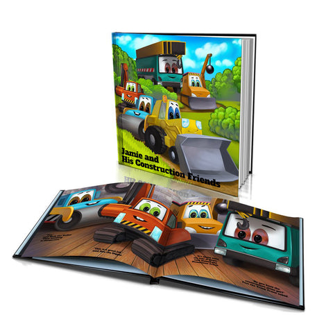 Hard Cover Story Book - Construction Friends