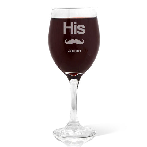 His Wine 410ml Glass