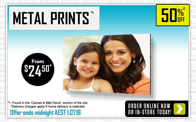 Home Rectangle Metal Prints Offer - Ends 4.03.18
