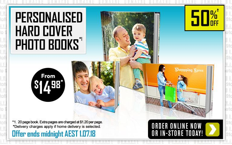 Home Personalised Hard Cover Photo Books
