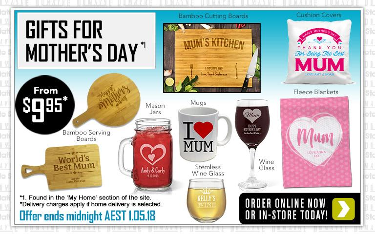 Home Mother's Day Gifts offer - ends 1.05.18