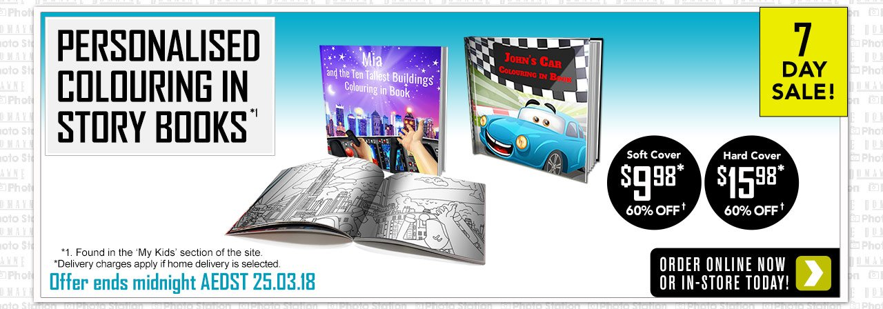Home Colouring In Story Book offer - ends 25.03.18