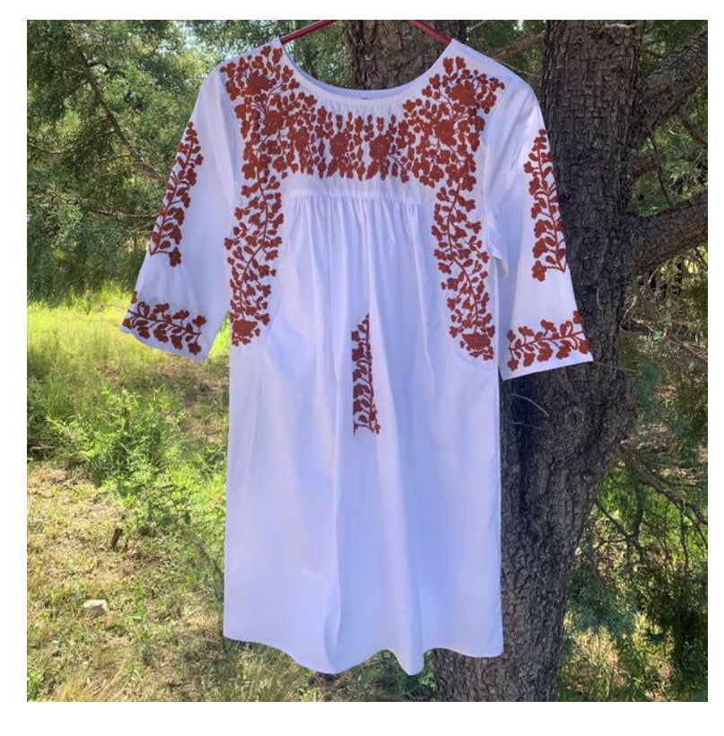 White Tail Gate Dress