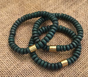 Hunter Green Bracelets
