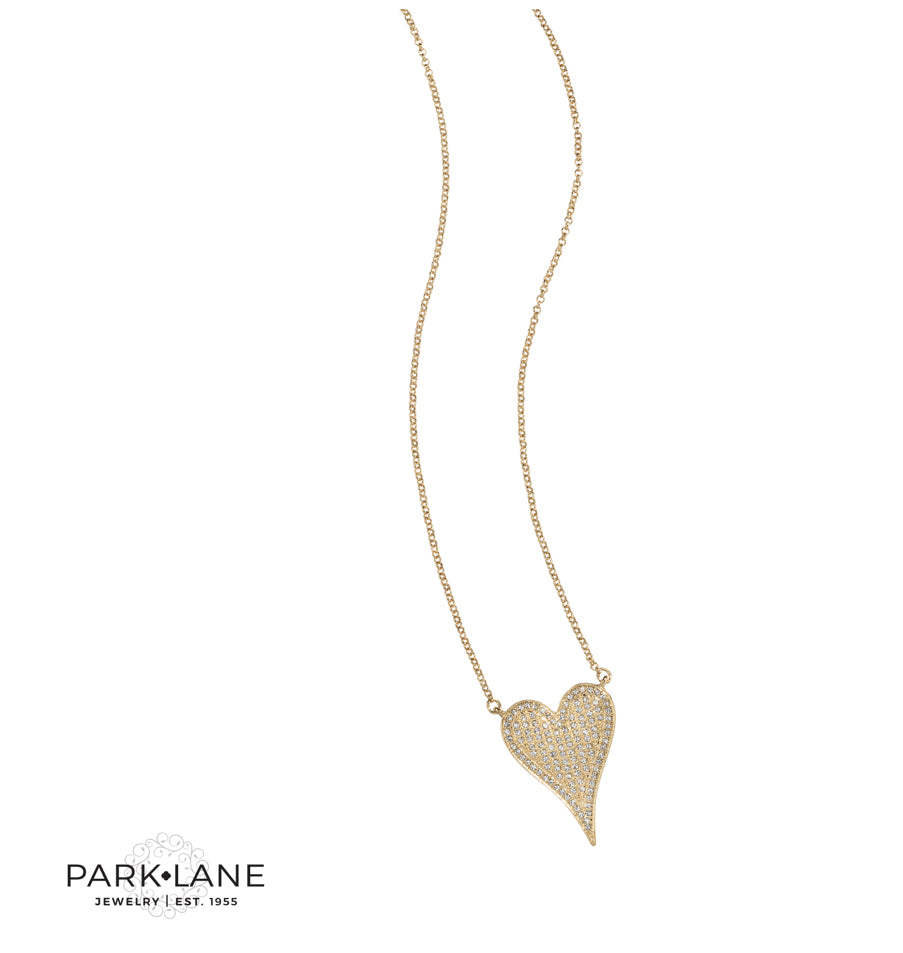 Betsey Heart Necklace