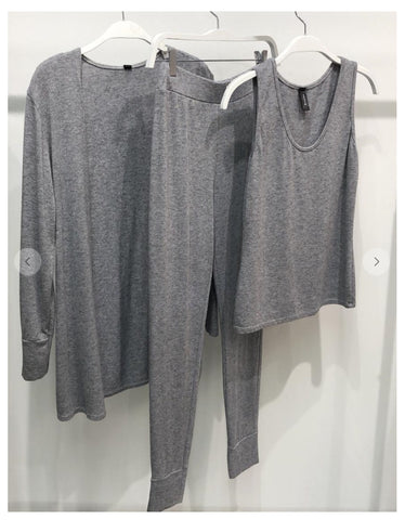 Heather Grey 3 Piece Set