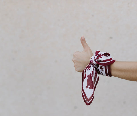Texas A&M Square Scarf