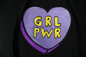 Girl Power Crop Hoodie