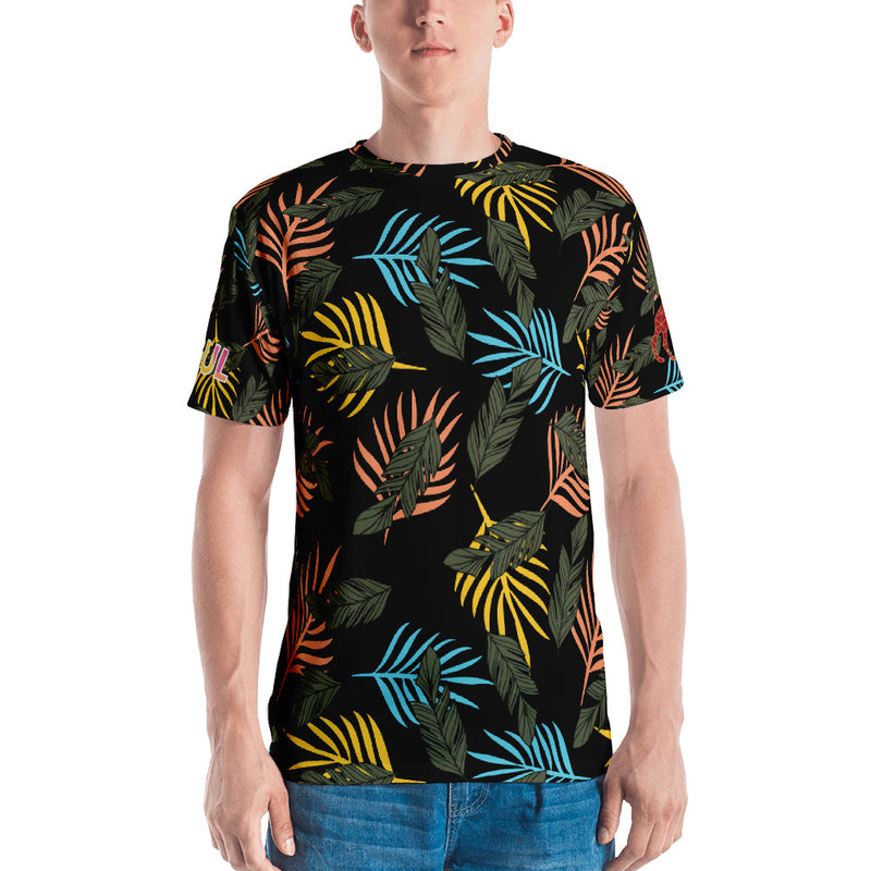 Tropical Black Shirt