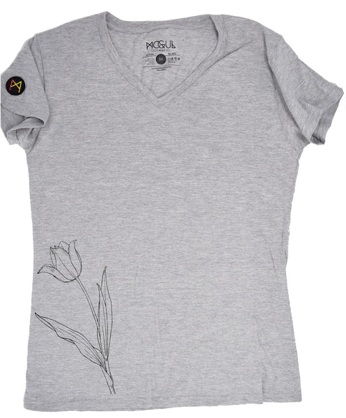 Ladies Tulip V-Neck