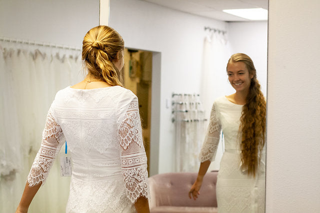 What should I expect to feel when I find my wedding gown?