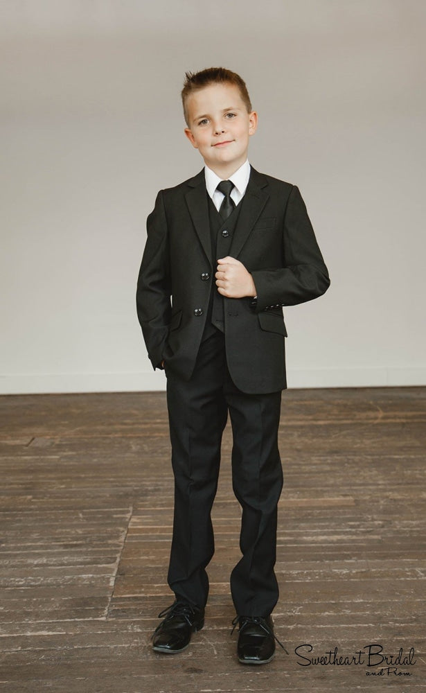 Suit-Black Baptism Dress