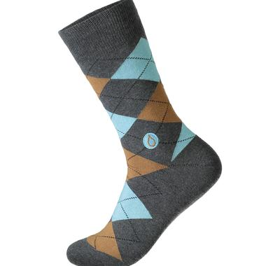 Soft organic cotton socks. These socks are the gift that keep giving, providing 18 months of safe water - inspired by the transformative work of Water.org