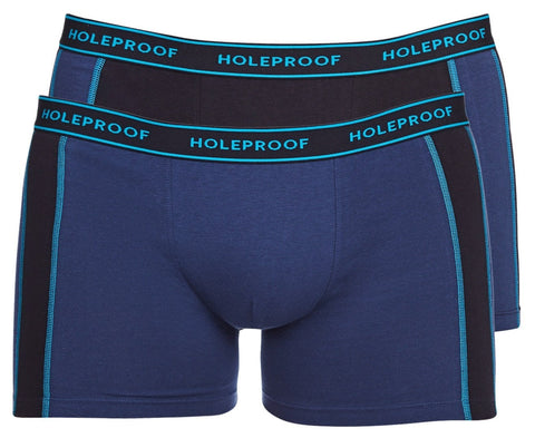 Holeproof Mens Sporty Comfort Trunks - 2 Pack
