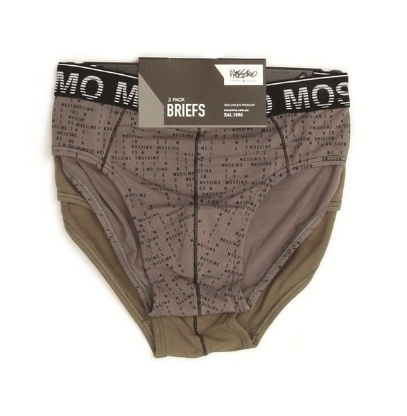 Mossimo Briefs 2 Pack Brando