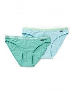 Bonds Girls Hipster Bikini Briefs 2 Pack