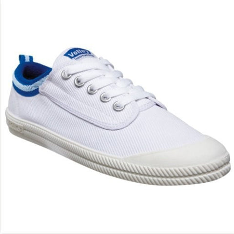 "Dunlop Volley ""International"" White/Blue Mens Shoes"